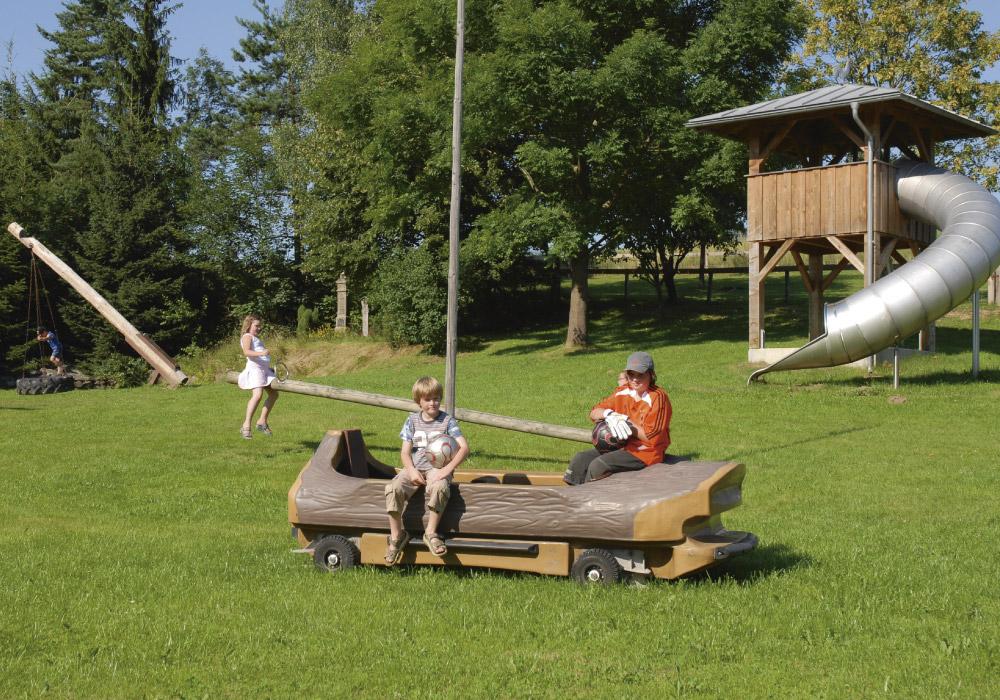 Klettergerüst Traktor : Spiel und spaß